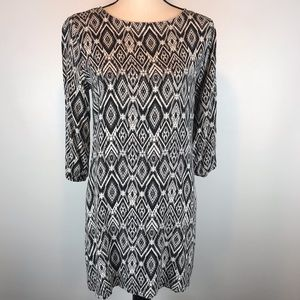 Abercrombie & Fitch Black&White Dress Size Medium